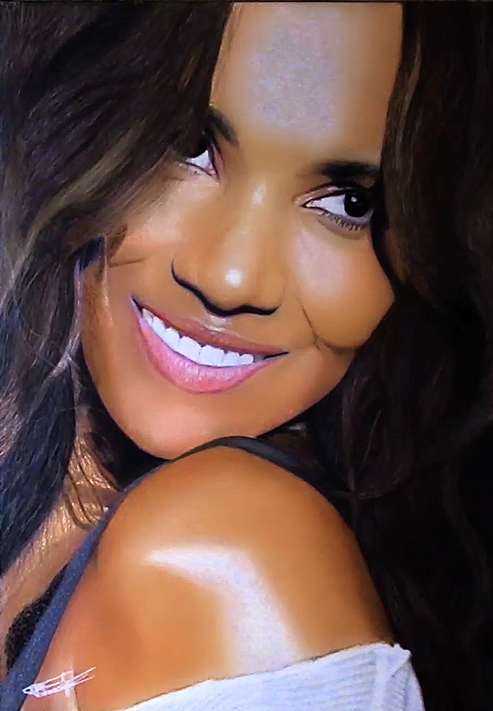 Halle Berry by Kaiser